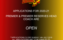 2020-2021 Coaching Applications Open