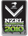 NZRL GrassRoots Club of the Year 2010